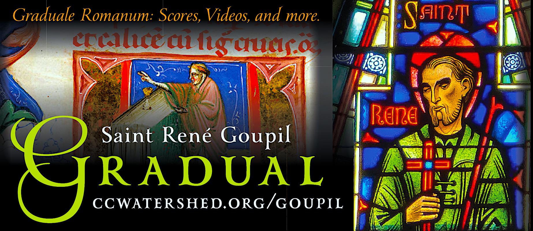 Saint René Goupil • Gregorian Chant Propers