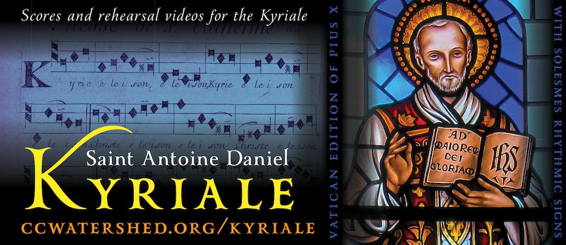 Saint Antoine Daniel Kyriale (Website)